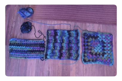 2015-03-11 Textured Squared Blanket WIP